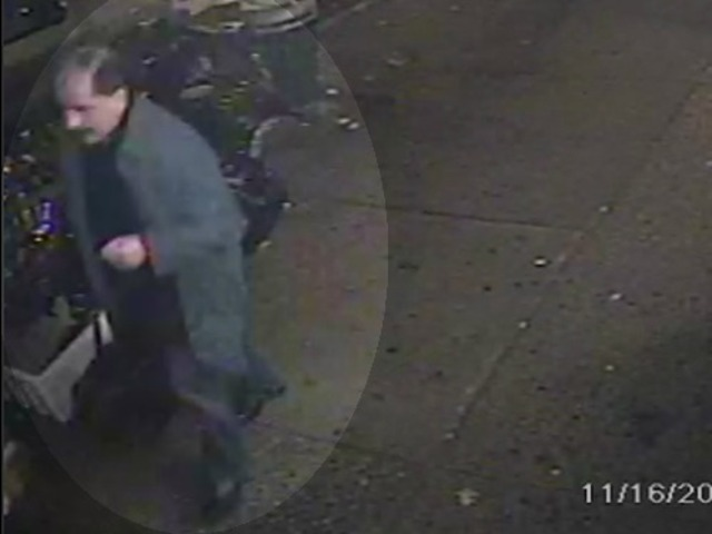 <p>Police were questioning this man shown in surveillance footage Nov. 20, 2012.</p>