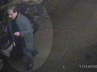 The man with the duffel bag seen in surveillance footage walked into the 68th Precinct to talk to police.