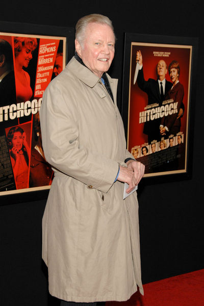 <p>Jon Voight at the New York premiere of &#39;Hitchcock&#39; at the Ziegfeld Theater in Midtown, Sunday, November 18, 2012.</p>