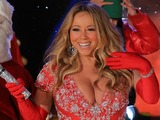 Mariah Carey Busts Out at Rockefeller Center Tree Lighting Concert