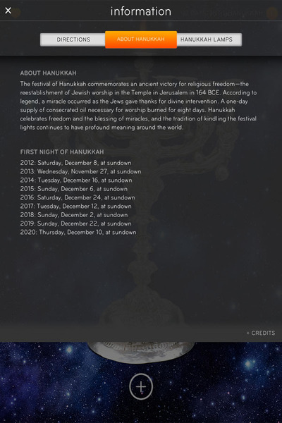 <p>Here&#39;s another screenshot of the informational portion of the &quot;Light My Fire&quot; app.</p>