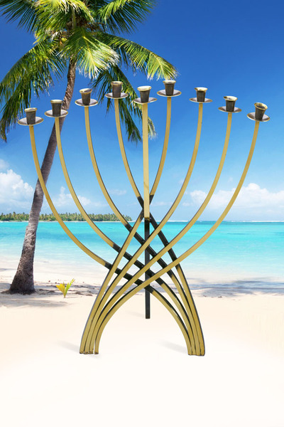 <p>Here&#39;s another example of a menorah-background mashup.</p>