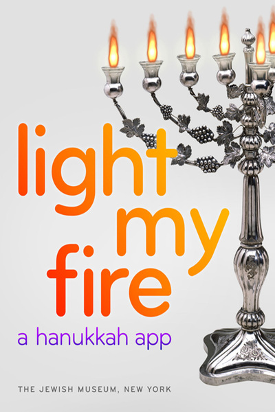 <p>&quot;Light My Fire&quot; is the Jewish Museum&#39;s first Hanukkah app.</p>