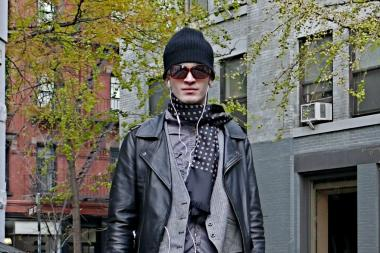 Menswear's ecletic urban layering and durable boots