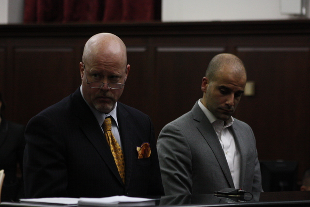 <p>Michael Jaccarino, a Brooklyn assistant district attorney, awaits arraignment on November 10, 2012, after allegedly choking and attacking a paramedic.</p>