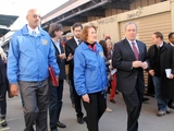 Federal Officials Tour Seaport Businesses Devastated by Sandy