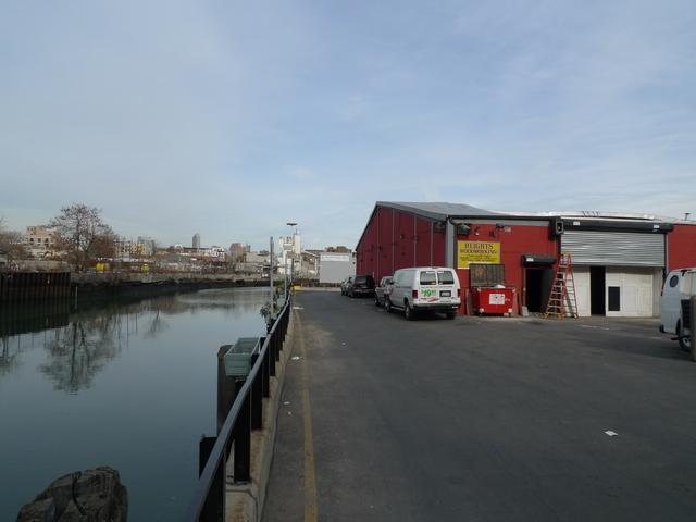 <p>The Gowanus Industrial Arts Complex on Ninth Street is perched on the edge of the Gowanus Canal.</p>