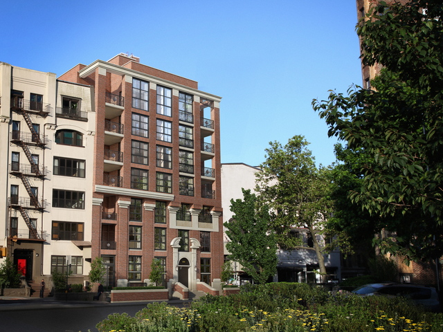 <p>A rendering of the exterior of Park Union, a new condo building at 910 Union Street in Park Slope. A preschool called Mozarts and Einsteins rented the ground-floor retail space in the building and is expected to open there in the summer of 2013.</p>