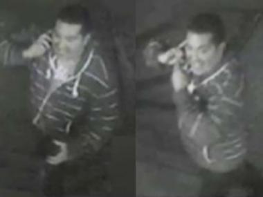 Police released these photos of the suspect.