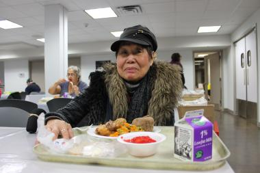 The new Project FIND Coffeehouse has food and activities for low-income seniors.