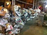 Sanitation Pickup Delays Leave Mountains of Recycling Bags on UWS