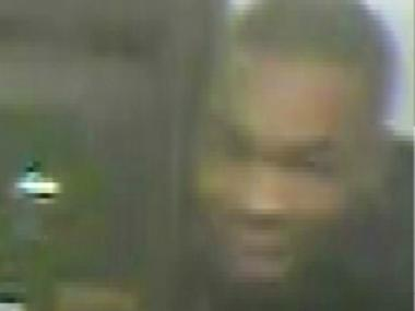 Police are looking for this man in connection with an armed robbery on the stairs leading to the Junius Street train station, on the 2, 3, 4 and 5 lines.