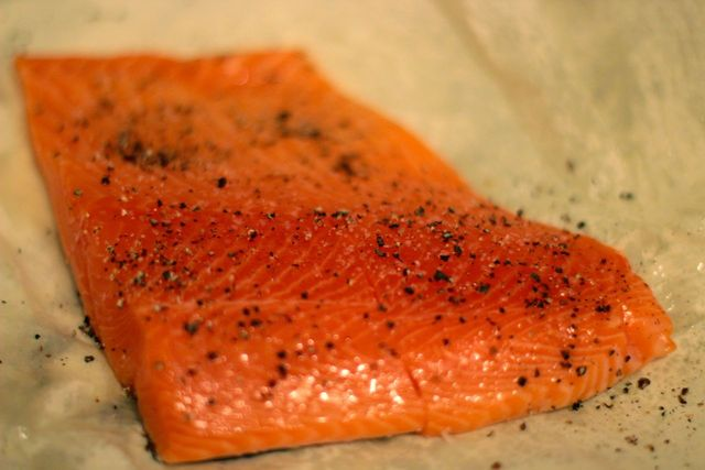 <p>Salmon is packed with nutrients including Omega-3 fatty acids.</p>