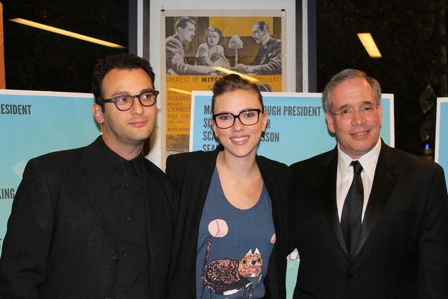 <p>Actress Scarlett Johansson was a big supporter of Manhattan Borough President Scott Stringer, who has announced he&#39;ll run for comptroller.</p>