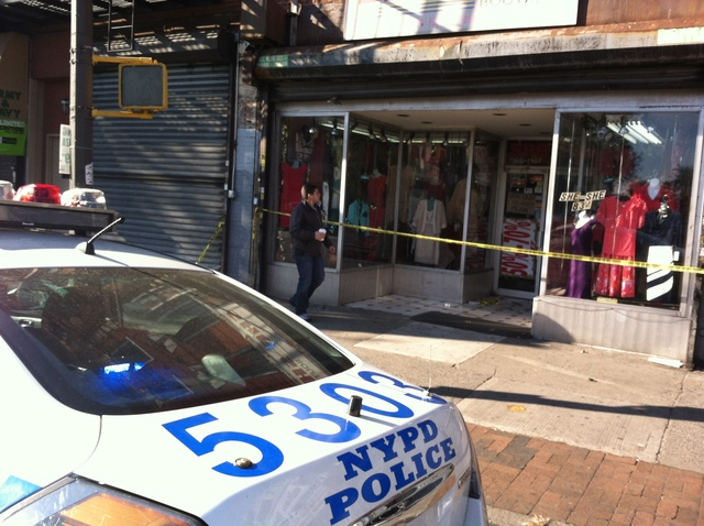 <p>She-She Boutique, where Vahidipour Ramatohah, 78, was found dead on Friday evening, Nov. 16, 2012.</p>