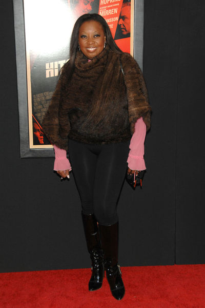 <p>Star Jones at the New York premiere of &#39;Hitchcock&#39; at the Ziegfeld Theater in Midtown, Sunday, November 18, 2012.</p>