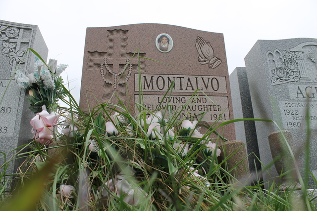 <p>Sonia Montalvo was buried in St. Raymond&#39;s Cemetery in the Bronx in 1981. Montalvo&#39;s mother, Gladys Lugo, recently asked that her body be moved to a New Jersey grave site closer to her home.</p>