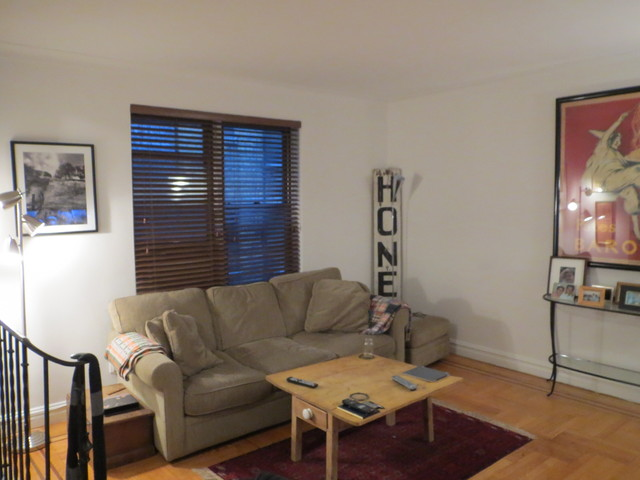 <p>Some house hunters worried that the living room didn&#39;t provide enough light.</p>