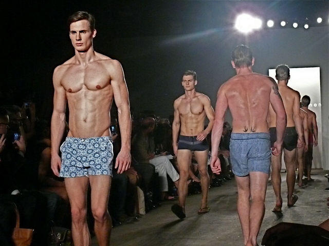 <p>Parke &amp; Ronen finale looks swimwear and shorts for Spring 2013.<br /> 	<br /> 	&nbsp;</p>