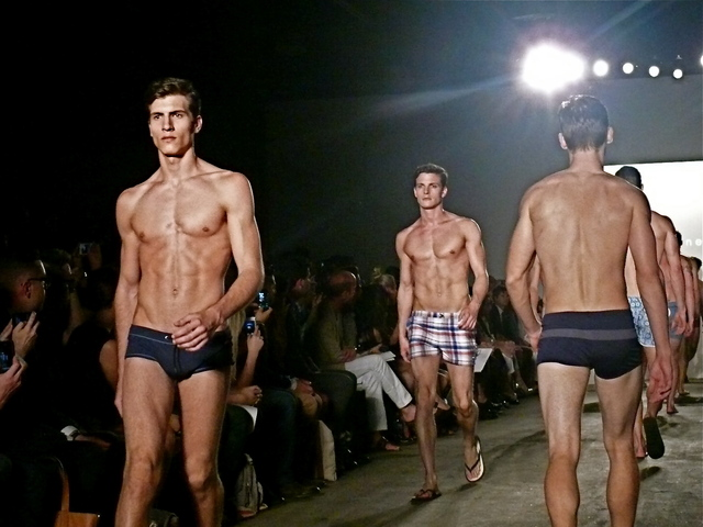 <p>Parke &amp; Ronen swim, board shorts and leisure shorts for Spring 2013.<br /> 	&nbsp;</p>