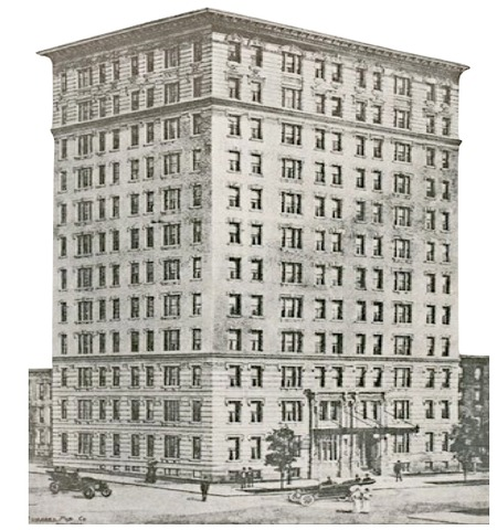 <p>A historic photo of 498 West End Avenue.</p>