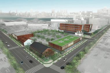 December 21, 2012 - Blumenfeld Development Group was chosen to develop Brooklyn Navy Yard's Admiral Row into a supermarket and retail center.