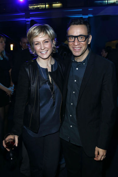 <p>Amy Carlson and Fred Armisen at the premiere of the third season of &quot;Portlandia&quot; at the Museum of American History, Monday, December 10, 2012.</p>