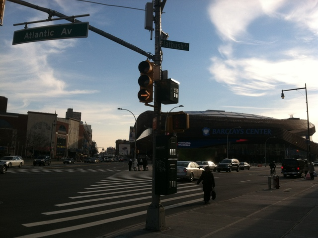 <p>The intersection of Atlantic Avenue and Flatbush Avenue</p>
