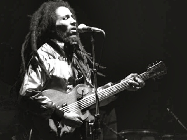 <div> 	Bob Marley performs in Zurich, Switzerland May 30, 1980.&nbsp;</div>