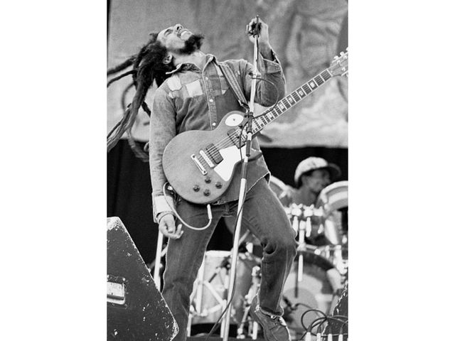 <div> 	Bob Marley performed in Dublin, Ireland July 6, 1980, during his last tour.&nbsp;</div>