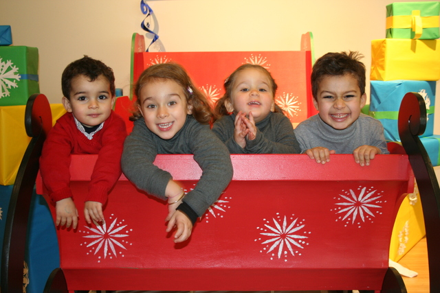 <p>Kids enjoying the Brooklyn Children&#39;s Museum during the holidays.&nbsp;</p>