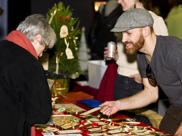 <p>Brooklyn Craft Central Holiday Market, shown here in 2011, will hold this year&#39;s market Dec. 15-16 and Dec. 22-23 at Littlefield, the performance venue in Gowanus.</p>
