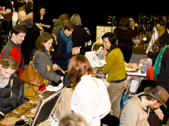 <p>Brooklyn Craft Central Holiday Market, shown here in 2011, will hold this year&#39;s market Dec. 15-16 and Dec. 22-23 at Littlefield, the performance venue in</p>