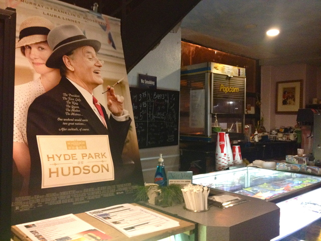 <p>December 19, 2012 - The concession stand at Brooklyn Heights Cinema.</p>