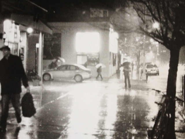 <p>Brooklyn Heights Cinema in the rain.</p>