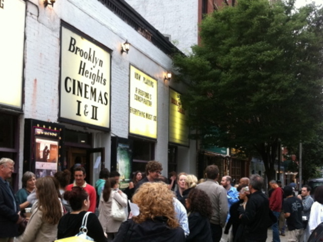 <p>Kenn Lowy took a photo of the outside of the Brooklyn Heights Cinema.</p>