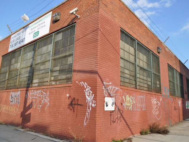 <p>A warehouse on 82 Bogart St. in Bushwick will soon become a mall, which residents hope will cater only to local businesses.</p>