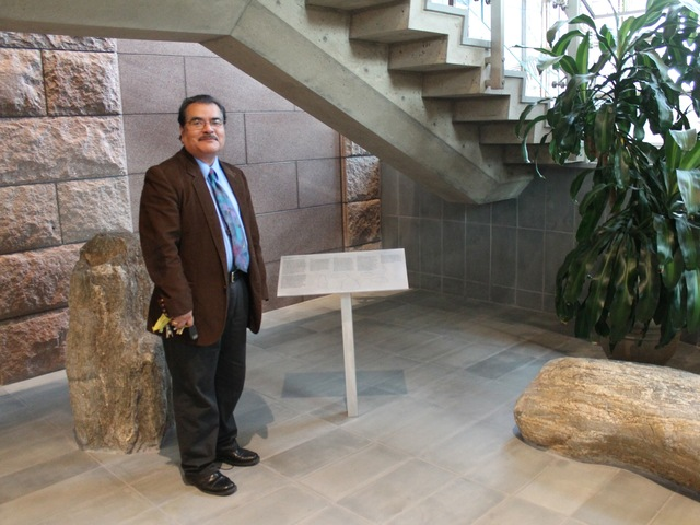 <p>Carl Ballenas, president of the Friends of Maple Grove.</p>