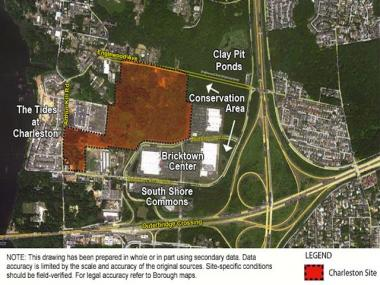Residents complained about the smaller size of a planned public school in Charleston to the city.