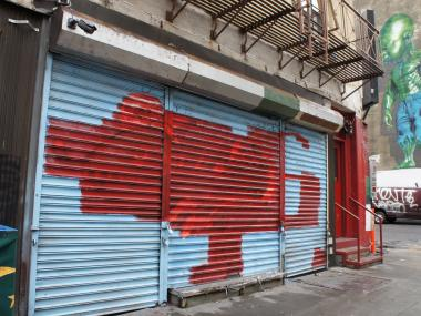 Neighborhood art enthusiasts say their undeterred after a vigilante neighbor defaced Mulberry St. mural