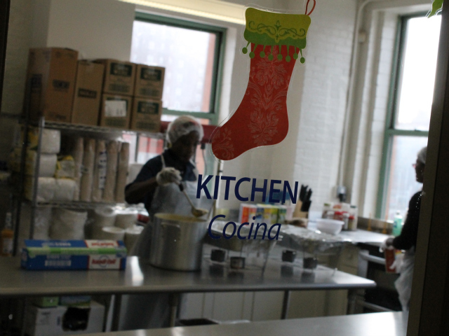 <p>The center&#39;s new kitchen.</p>