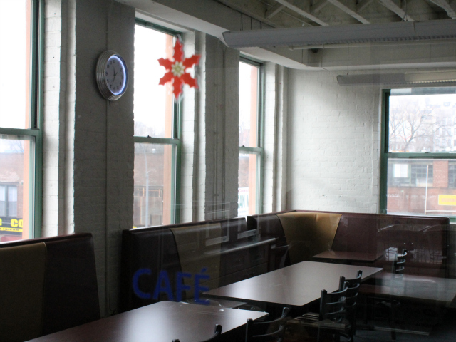 <p>The new cafe.</p>