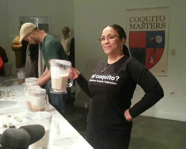 <p>Debbie Quinones, founder of the International Coquito Tasting Federation.</p>