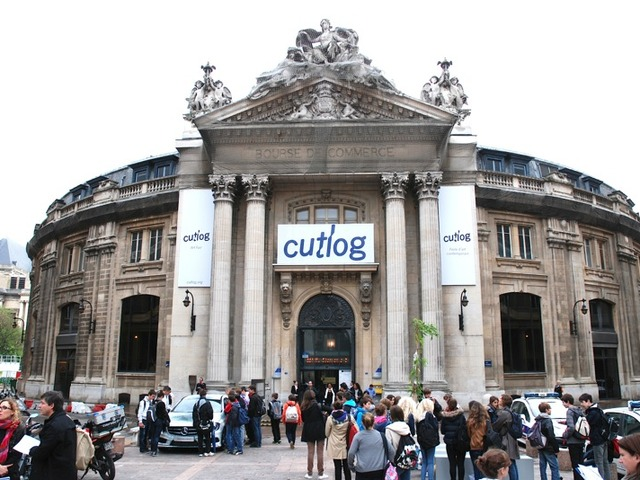 <p>Cutlog, an art fair in its fourth year, drew 10,000 visitors to the Bourse de Commerce in Paris this year.</p>