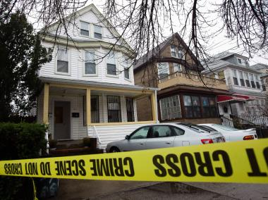 Lorraine Cetrone, 62, was found apparently stabbed to death inside an Elmhurst home on Sunday December 9, 2012.