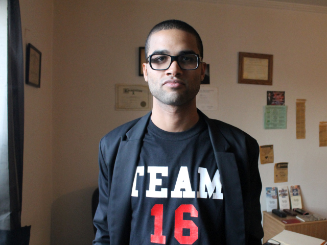 <p>Felipe De Los Santos, a law student who lives in Riverdale, plans to run for the District 16 City Council seat. He started a community-based group, Team 16, to develop a base in the area.</p>
