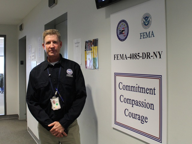 <p>Ed Conley said FEMA will stay in Forest Hills &ldquo;as long as it&rsquo;s needed.&rdquo;</p>