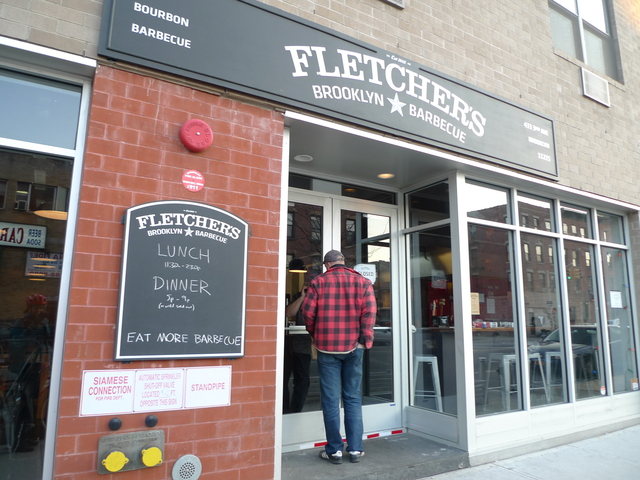 <p>Fletchers Barbecue on Third Avenue in Gowanus is one of several new businesses in the rapidly changing industrial neighborhoos.</p>