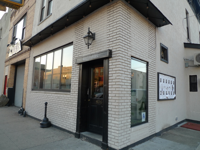 <p>Halyards, a bar on Sixth Street and Third Avenue that opened in 2011. Local merchants and residents met with police there to discuss improving neighborhood safety in the wake of gunpoint robbery on Thanksgiving.</p>