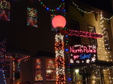 Holiday Light Show Brings North Pole to South Slope